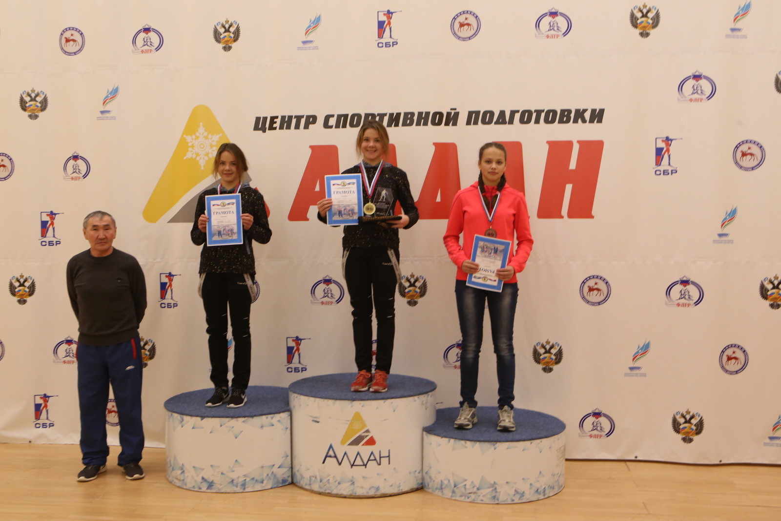 Победитель первенства Елена Зайцева
